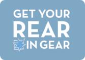 Get yYour Rear in Gear Logo