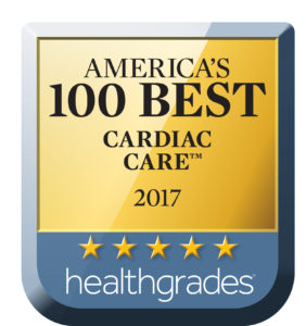 2017 Healthgrades America's 100 Best Cardiac Care Award
