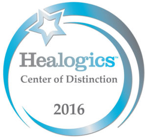 Healogics Center of Distinction 2016