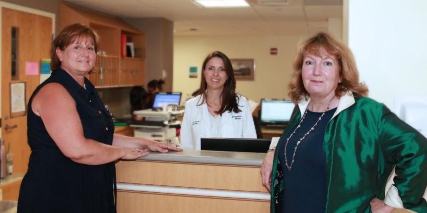 Kelly Roderick, Dr. Ana Laus, Patricia Mangan-Ball
