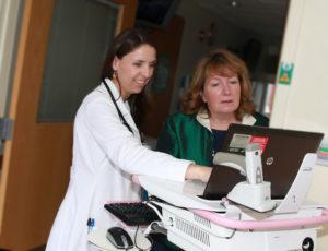 Dr. Ana Laus, Patricia Mangan-Ball