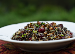 bowl of Wild Rice recipe