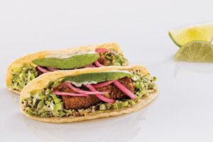 Baja Fish & Quinoa Tacos
