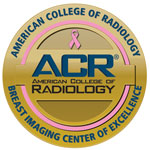 ACR Breast Center Excellence seal
