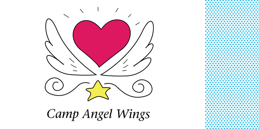Camp Angel Wings Logo